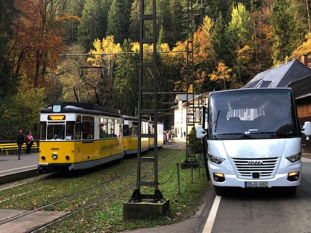 Bus, Kirnitzschtalbahn, CC0 Hartmut