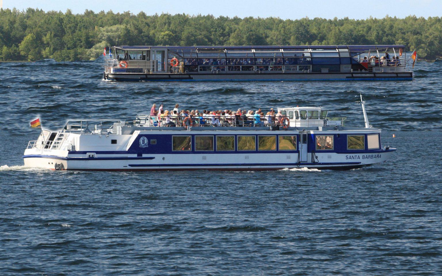 Schiffe Reederei Löwa, Senftenberger See, CC0 by Reederei Löwa