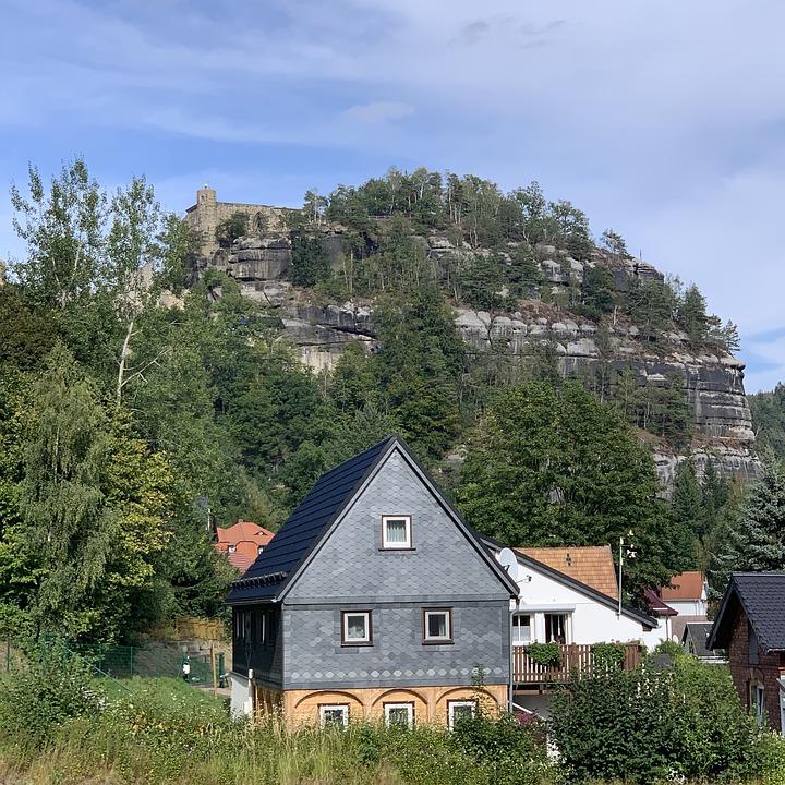 Oybin, Zittauer Gebirge, CC0 on pixabay