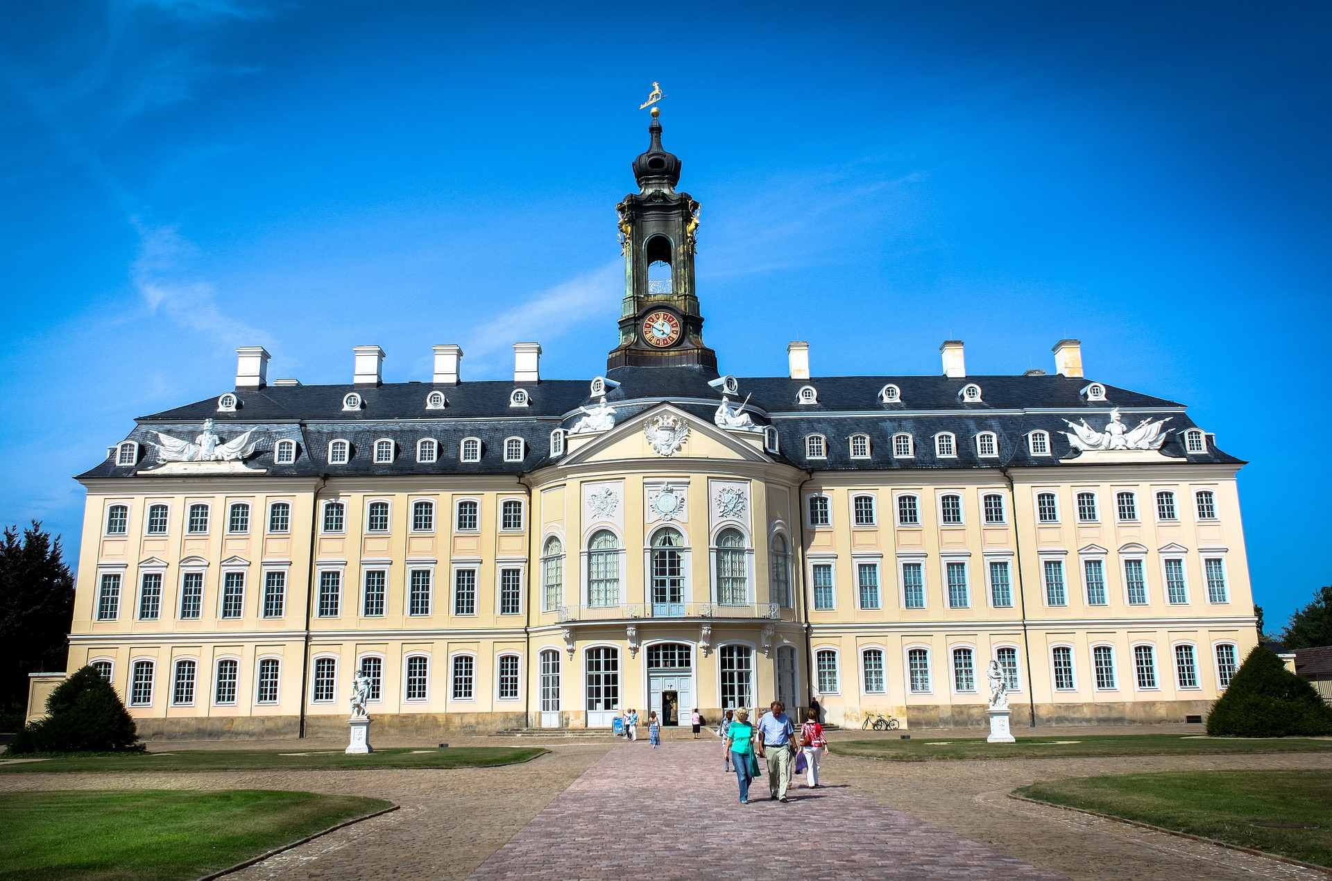 Hubertusburg, CC0 by mikezwei auf Pixabay