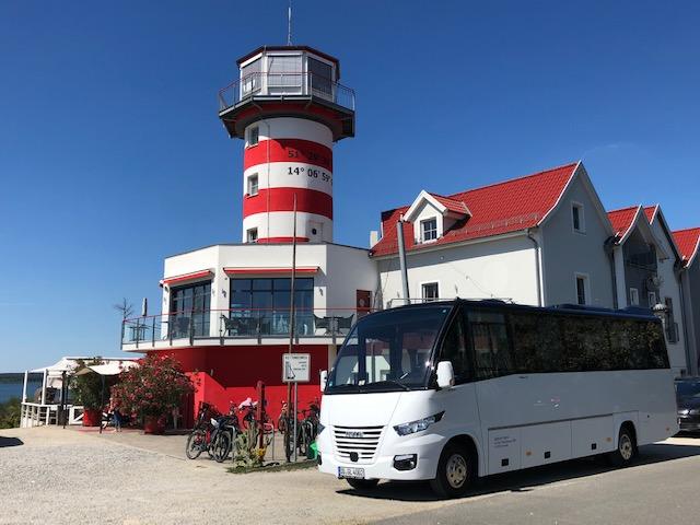 Bus, Geierswalde am Leuchtturm, CC0 Hartmut